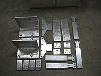 Fabrication of large and odd sized parts